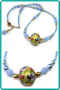 Treasure in the Sky Necklace