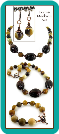 Horn and Mookaite Handmade Necklace Set